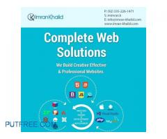 Corporate services in Web Application and Online shopping portals.