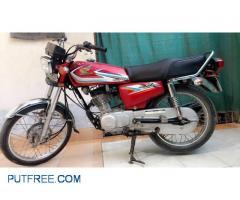 Honda CG 125 2016A