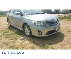 Corolla 2014 For Rent