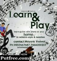 Learn guitar and piano..t