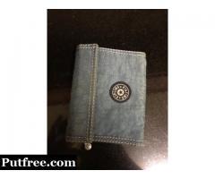 Imported kipling wallet