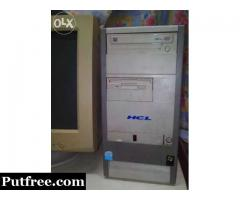 HCL P-4 Computer in good working condition (Full Set)