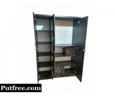 Brand new 3 DOORS WARDROBE 6ft*4ft plywood 18mm,COD by manufacturer