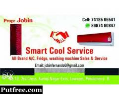 All brand a/c fridge and Washing machine service, home appliances and electrical works done