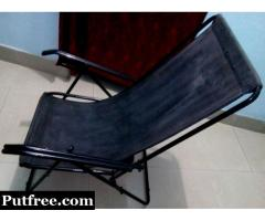 Rod Iron Folding Comfortable Easy Chair , Rs. 2200 , DUMDUM Metro .
