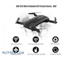 Drone Tracker Foldable Mini Drone With Wifi FPV HD Camera