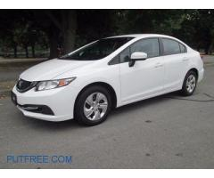 Honda civic 2014 For Rent