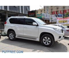 Toyota Prado Tx 2013 For Rent