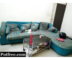L shape sofa Good Condition