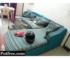 L shape sofa Good Condition