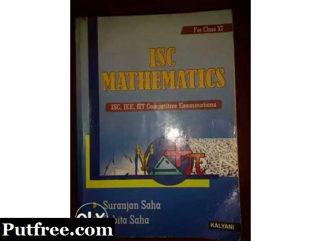 ISC Mathematics (class 11) - Saha and Saha (2016 edition)