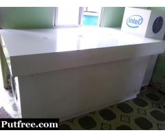 HP plywood table