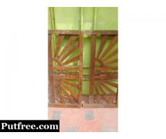 Antique cot wood made for fixed price