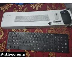 Wireless Keyboard Mouse call me 8076001618