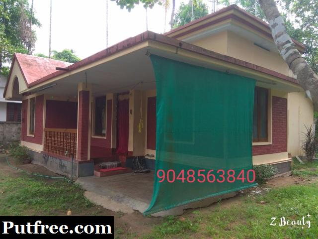 17 cent land and 3 BHK house for sale