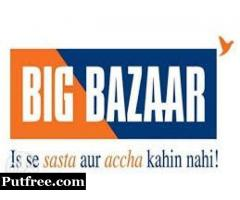 Big Bazaar Hiring Customer Care Executive(CCE)
