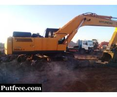 Excavator spares, engines, pumps, drives