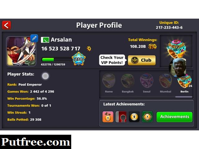 8 Ball Pool Coins Seller (trusted 100% gurranted)