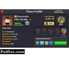 8 ball pool Coins in cheap rates karachi trusted with proof