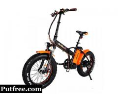 Addmotor MOTAN Electric Bicycle Bike 750W Power Folding 20'' Fat Tire Fork E-bike M-150 P7