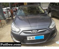 HyundaiFluidic Verna 1.6 sx AT2014Call 9999397957 Ajay