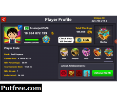 8 Ball Pool Coins For Sell In Low Rates Name OF Trust