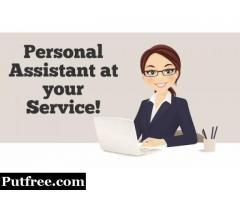 Female personal Assistant