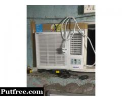 Voltas 0.75 window AC 2 star rating.3 months used only