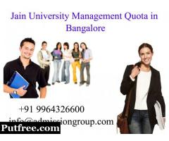 fees @ 9964326600 jain university direct admission