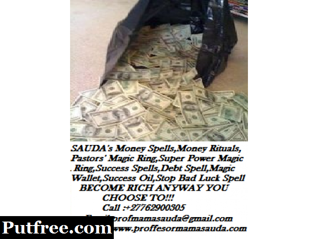 Get Money spell or Money Magic wallet and solve Financial