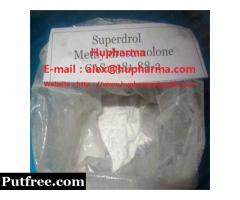 USA domestic 99% high purity Oral Superdrol Methyldrostanolone steroid powder