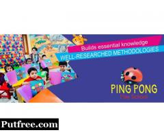 Ping Pong- No 1 Play School in Haridwar