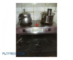Gas stove and gas clyinder with gas