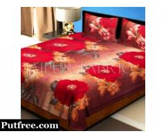 Looking for handmade Single Bed sheet?Visit Jaipur Fabric and order online.
