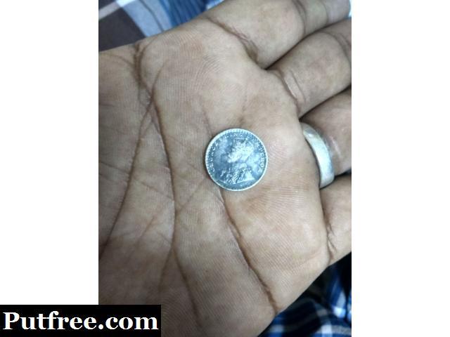 Two Annas India Coin