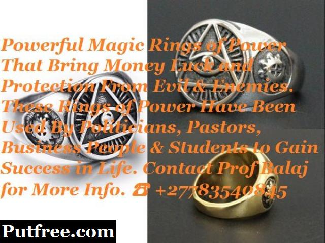 Magic Money Ring of Riches | Magic Ring for Wealth - Magic Ring for Pastors and Prophets
