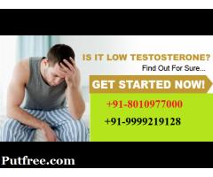 +91-8010977000 |best Low testosterone treatment in Arjun Nagar Gurgaon