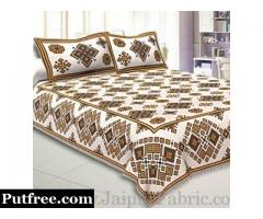 Jaipur Fabric Presenting Special Collection of Block Printed Bed Sheets
