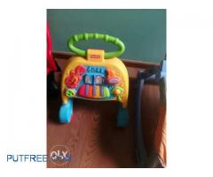 Fisher price walker rocker and high chair