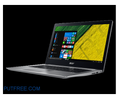 NEWLY LAUNCHED ACER SWIFT 3 BROUGHT FOR 70000 RS SELLING FOR 55000RS
