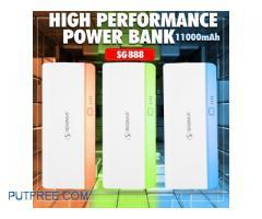 Icon Biz Karachi giving SIGMA Power Bank 11000mAh High Performance at Reasonable Price