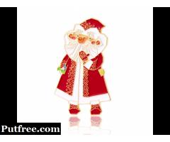 Christmas Santa Claus Enamel Pins