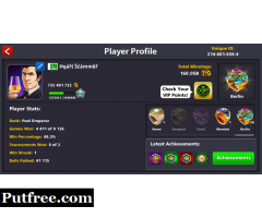 8 ball pool ids available in pakistan