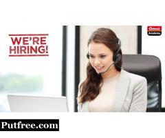 CAREER OPPORTUNITY I Front Desk Officer (Receptionist Female)