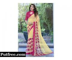 Buy designer sarees online at lowest prices from Mirraw