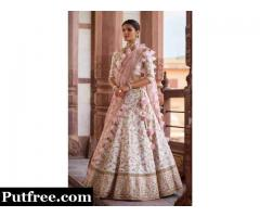 Looking to buy silk lehenga choli at least cost? Visit Mirraw